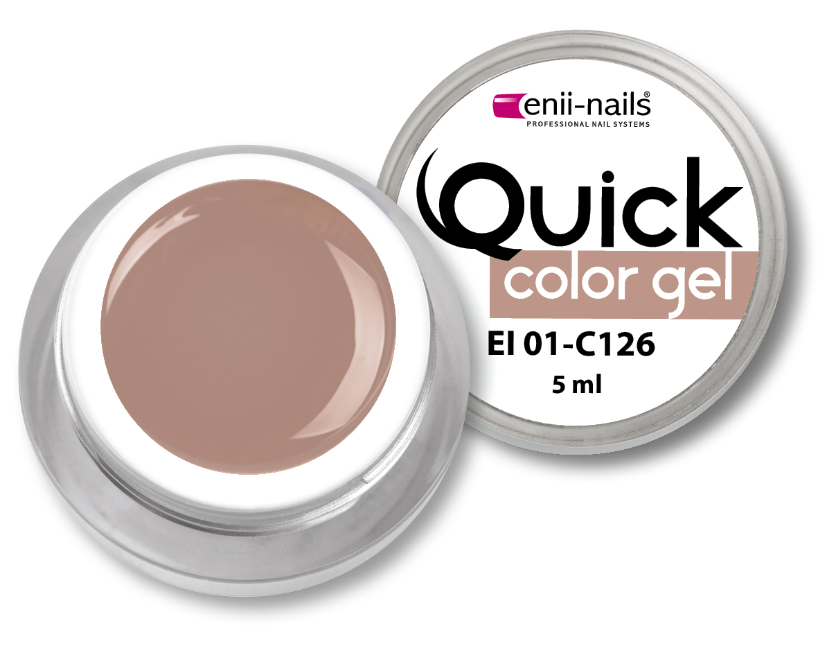 ENII-NAILS Quick Color Gel č.126 5 ml