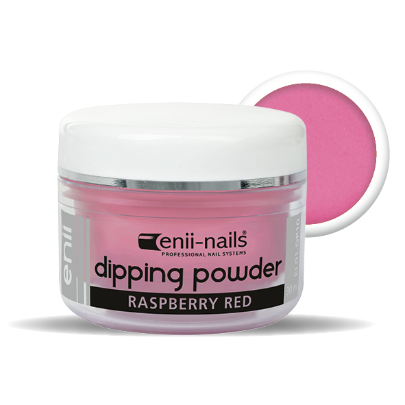 ENII-NAILS ENII DIPPING POWDER - raspberry red 30 ml