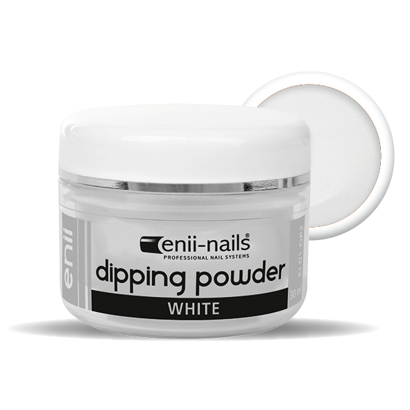 ENII-NAILS ENII DIPPING POWDER - white 30 ml