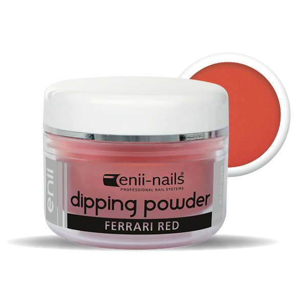 ENII-NAILS ENII DIPPING POWDER - ferrari red 30 ml