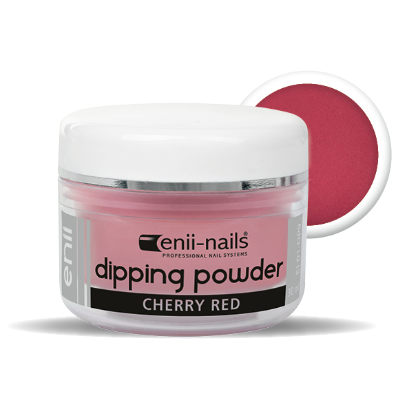 ENII-NAILS ENII DIPPING POWDER - cherry red 30 ml