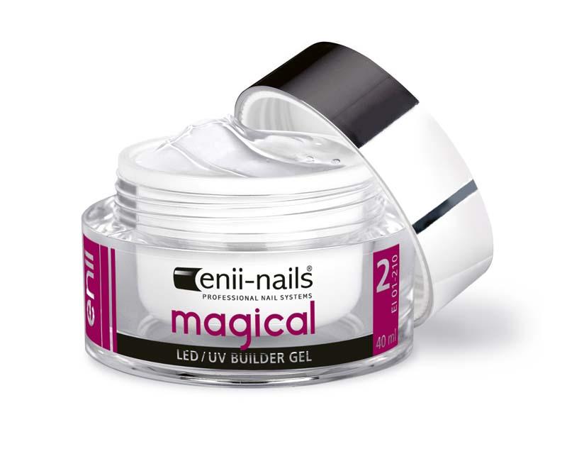 ENII-NAILS ENII MAGICAL 40 ml - modelovací průhledný
