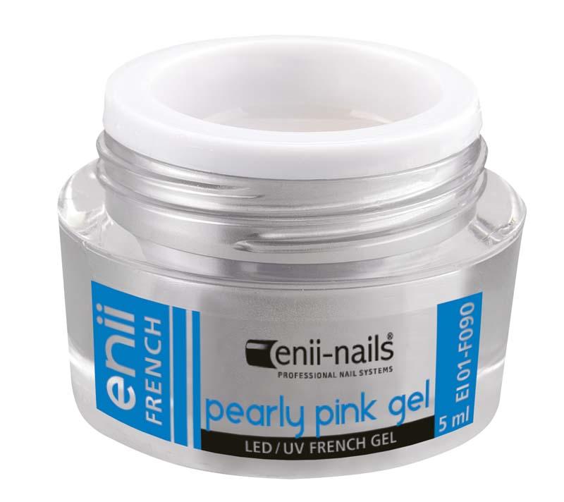 ENII-NAILS French perleťový růžový 5 ml