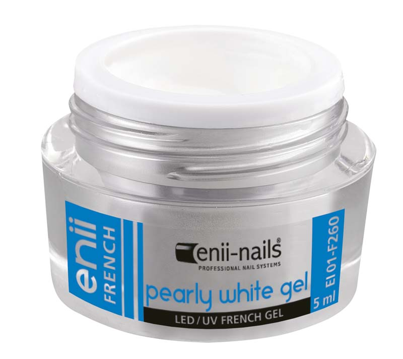 ENII-NAILS French perleťový bílý 5 ml