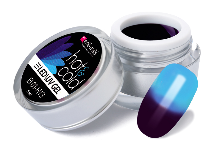 ENII-NAILS Hot & cold LED/UV gel 5 ml č.13