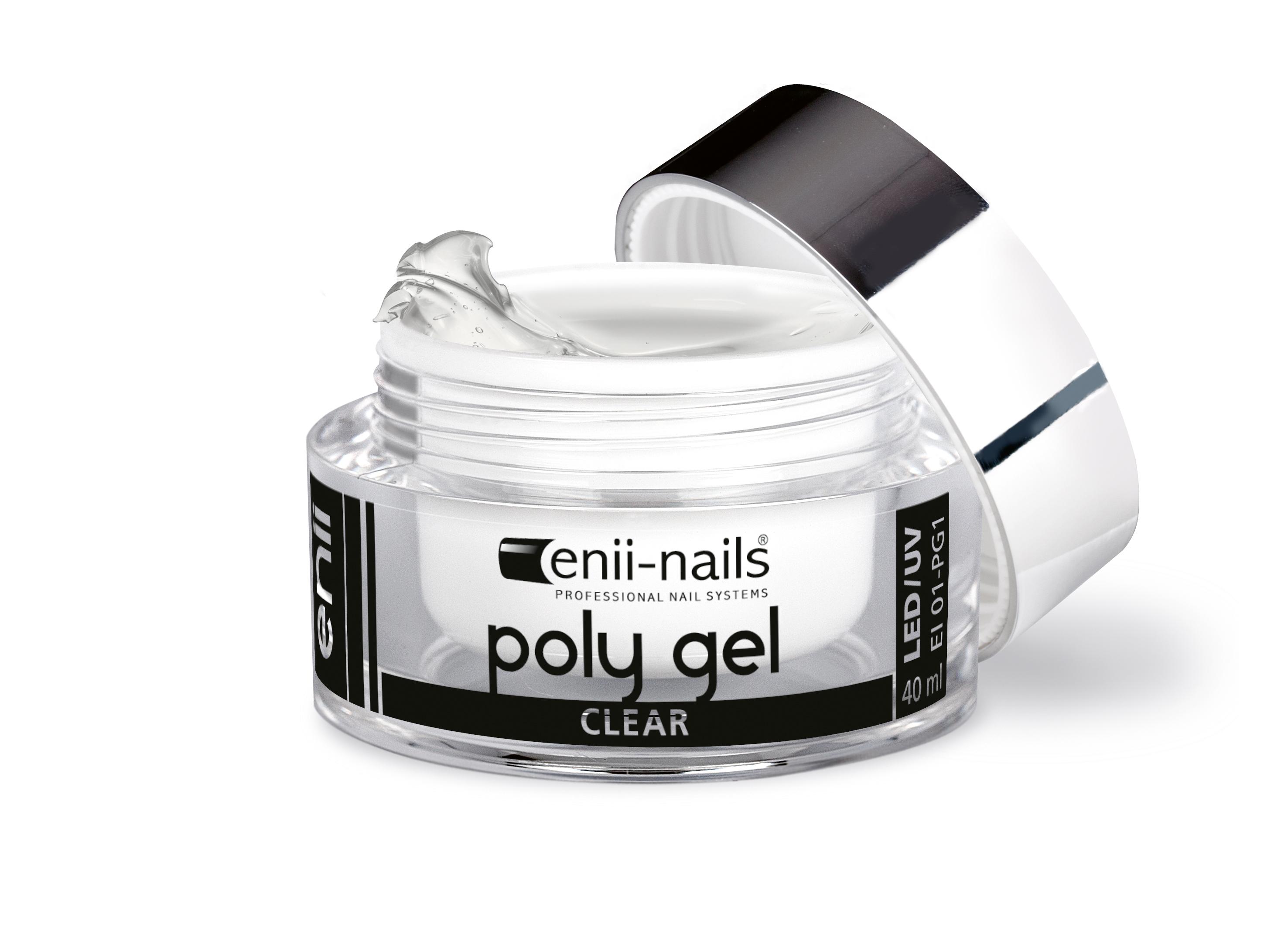 ENII-NAILS ENII POLY GEL - clear 10 ml