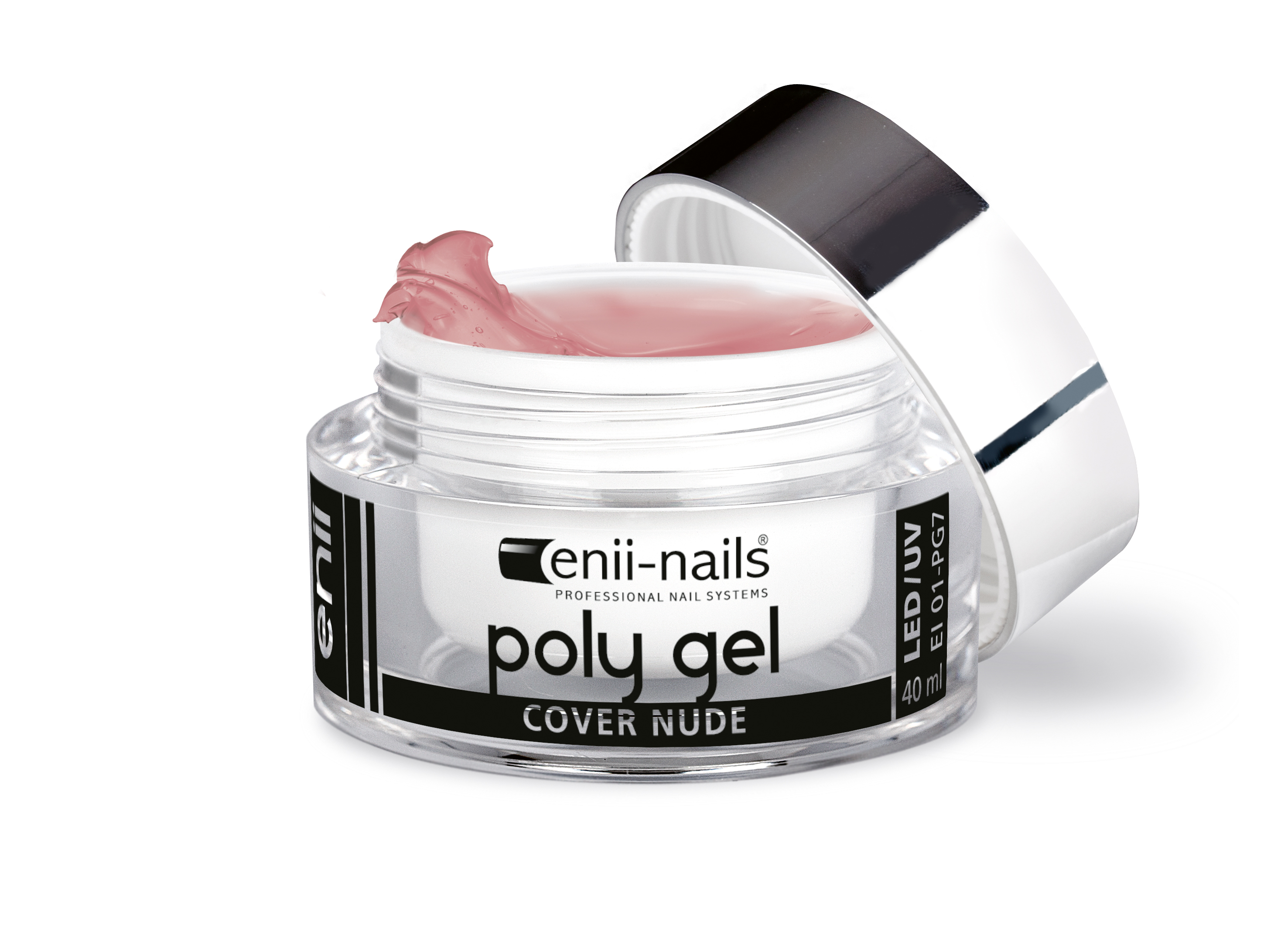 ENII-NAILS ENII POLY GEL - cover nude 40 ml