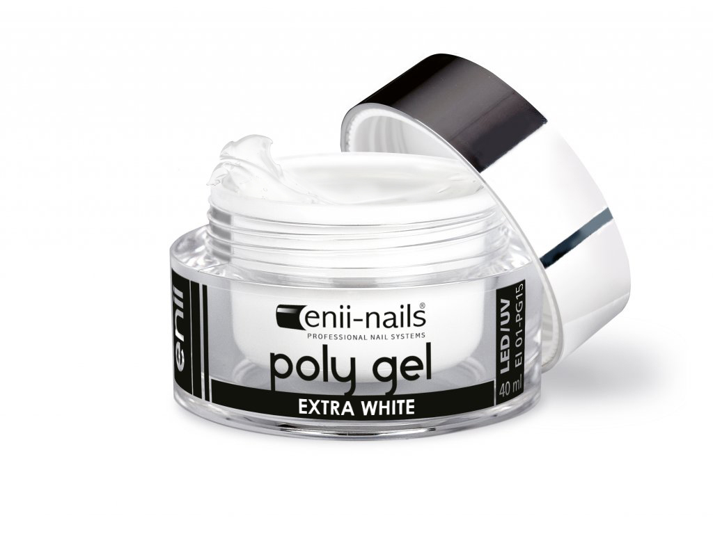 ENII-NAILS ENII POLY GEL - extra white 10 ml