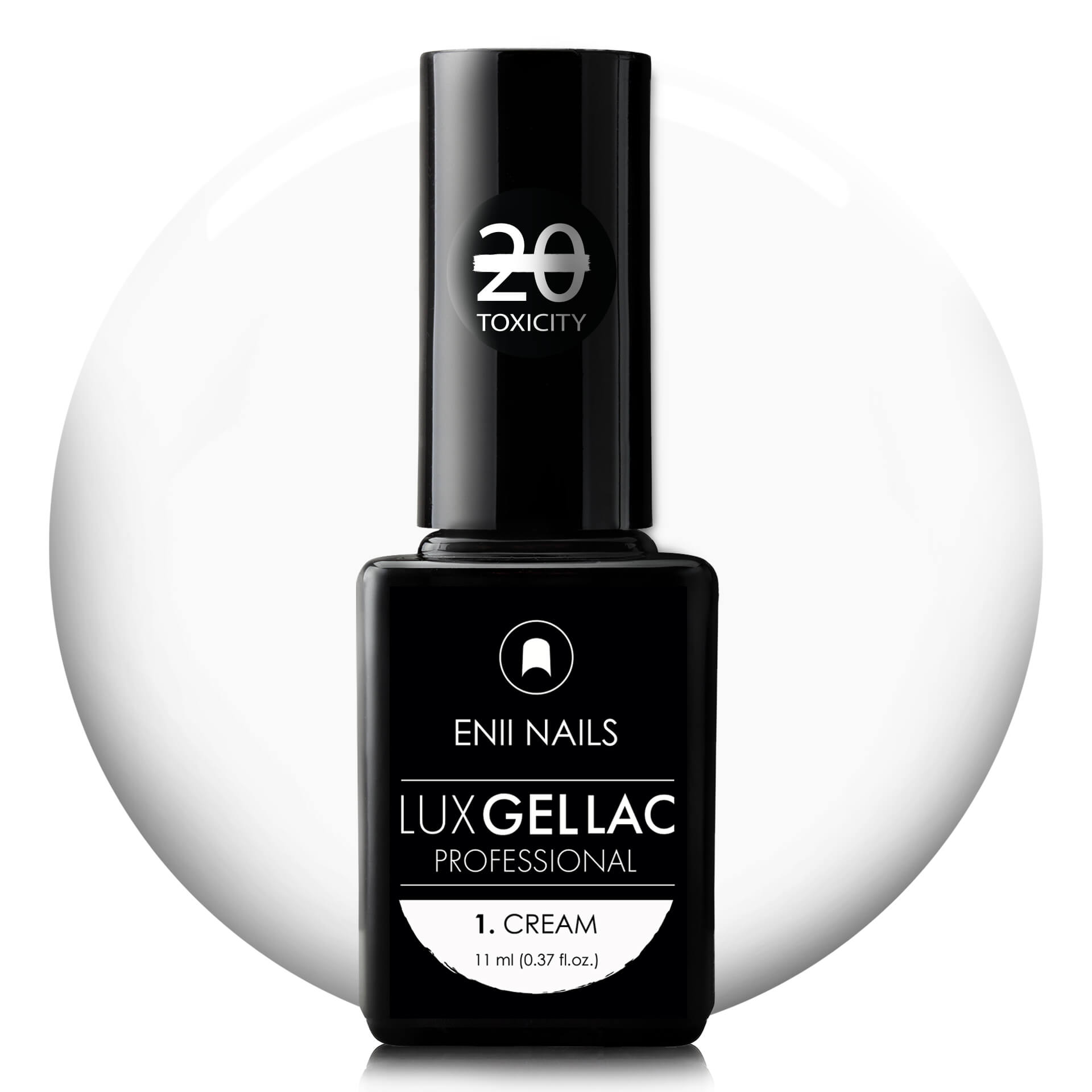 ENII-NAILS LUX GEL LAC 1. CREAM 11 ml
