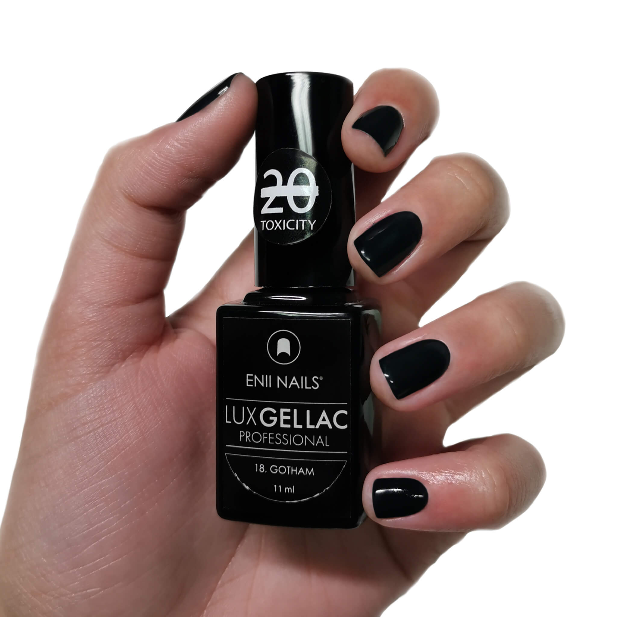 ENII-NAILS LUX GEL LAC 18. GOTHAM 11 ml