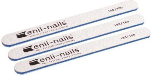 ENII-NAILS Sada pilníků ZEBRA 180/180