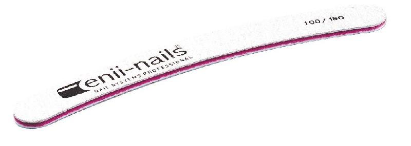 ENII-NAILS Pilník bílý banán 100x180