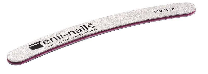 ENII-NAILS Pilník šedý banán 100x100