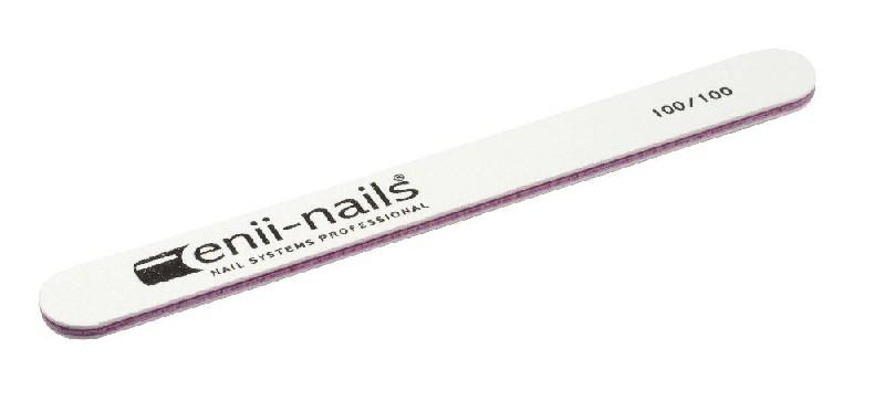 ENII-NAILS Pilník bílý 100x100