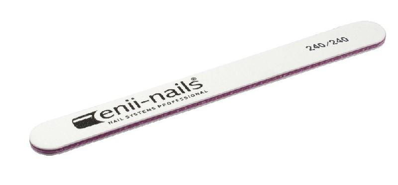 ENII-NAILS Pilník bílý 240x240