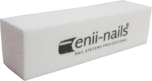ENII-NAILS Blok bílý 120