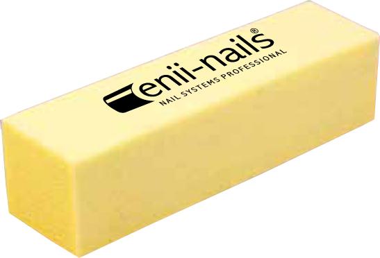 ENII-NAILS Blok žlutý 180