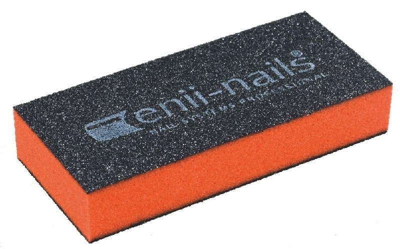 ENII-NAILS Blok oranžový malý 180/100