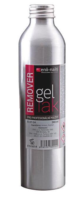 ENII-NAILS Remover - odstraňovač gel laku  200 ml