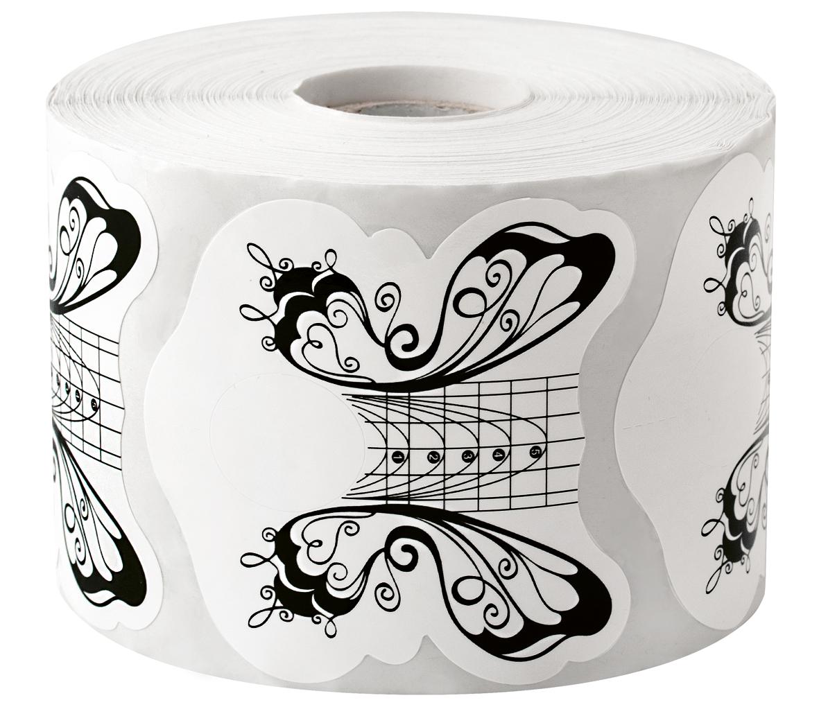 ENII-NAILS Nehtová forma - papírová motýl 500 ks