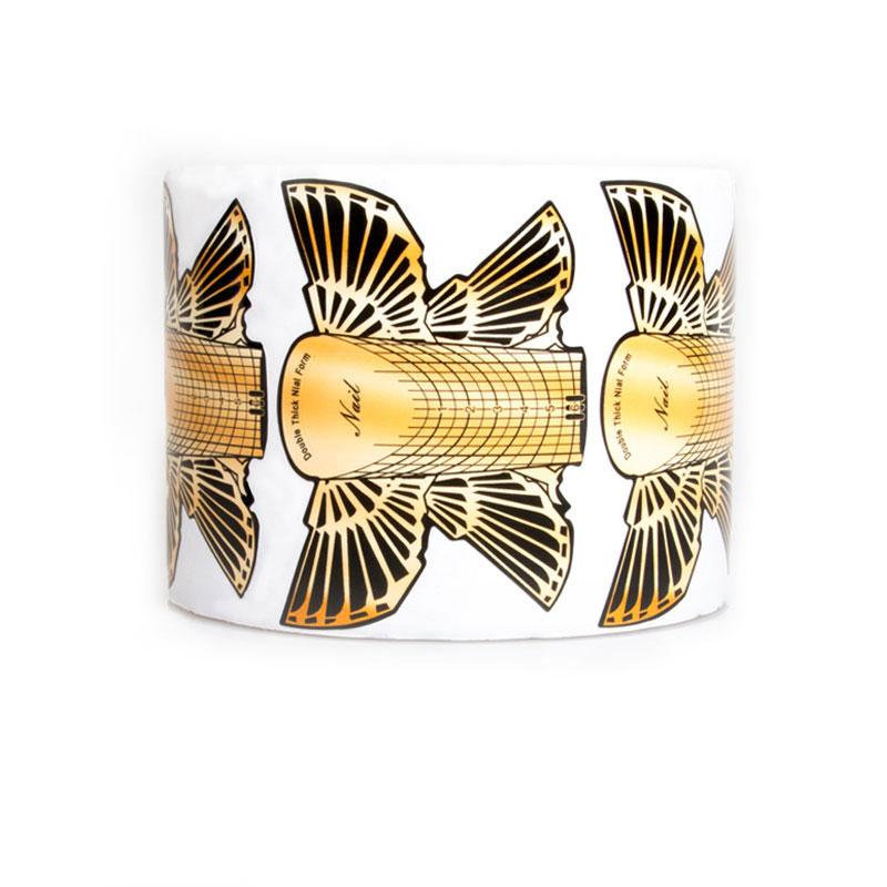ENII-NAILS Nehtová forma papírový motýl 1 100ks