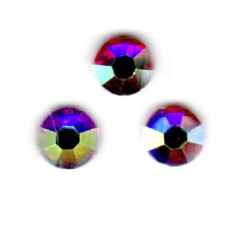 ENII-NAILS Štrasové kamínky s AB efektem - 30 ks