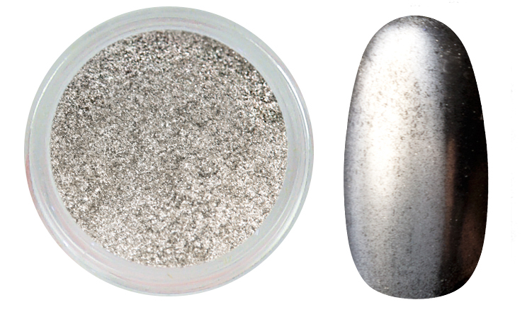 ENII-NAILS Mirror effect - silver
