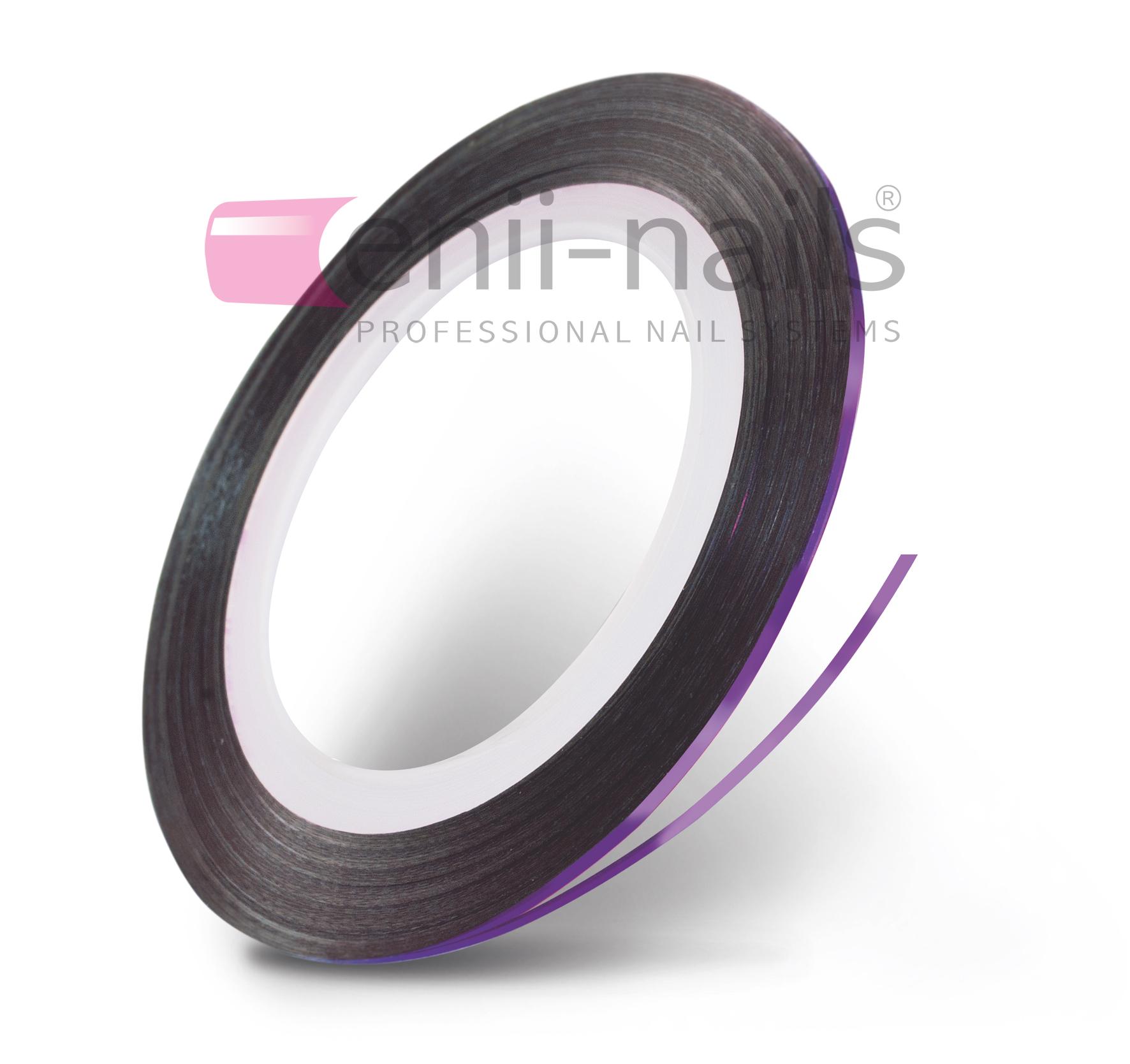 ENII-NAILS Nail art páska - fialová, 1 mm