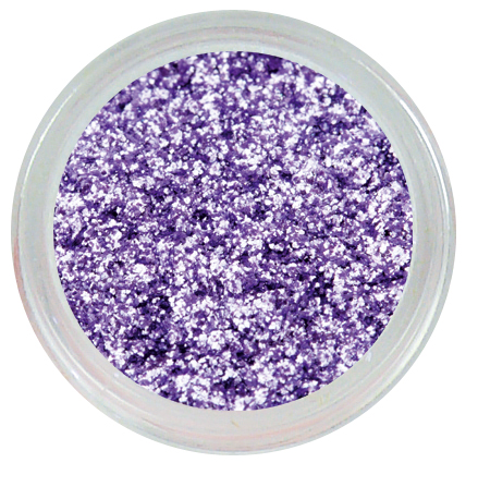 ENII-NAILS Pigment - flash silver purple