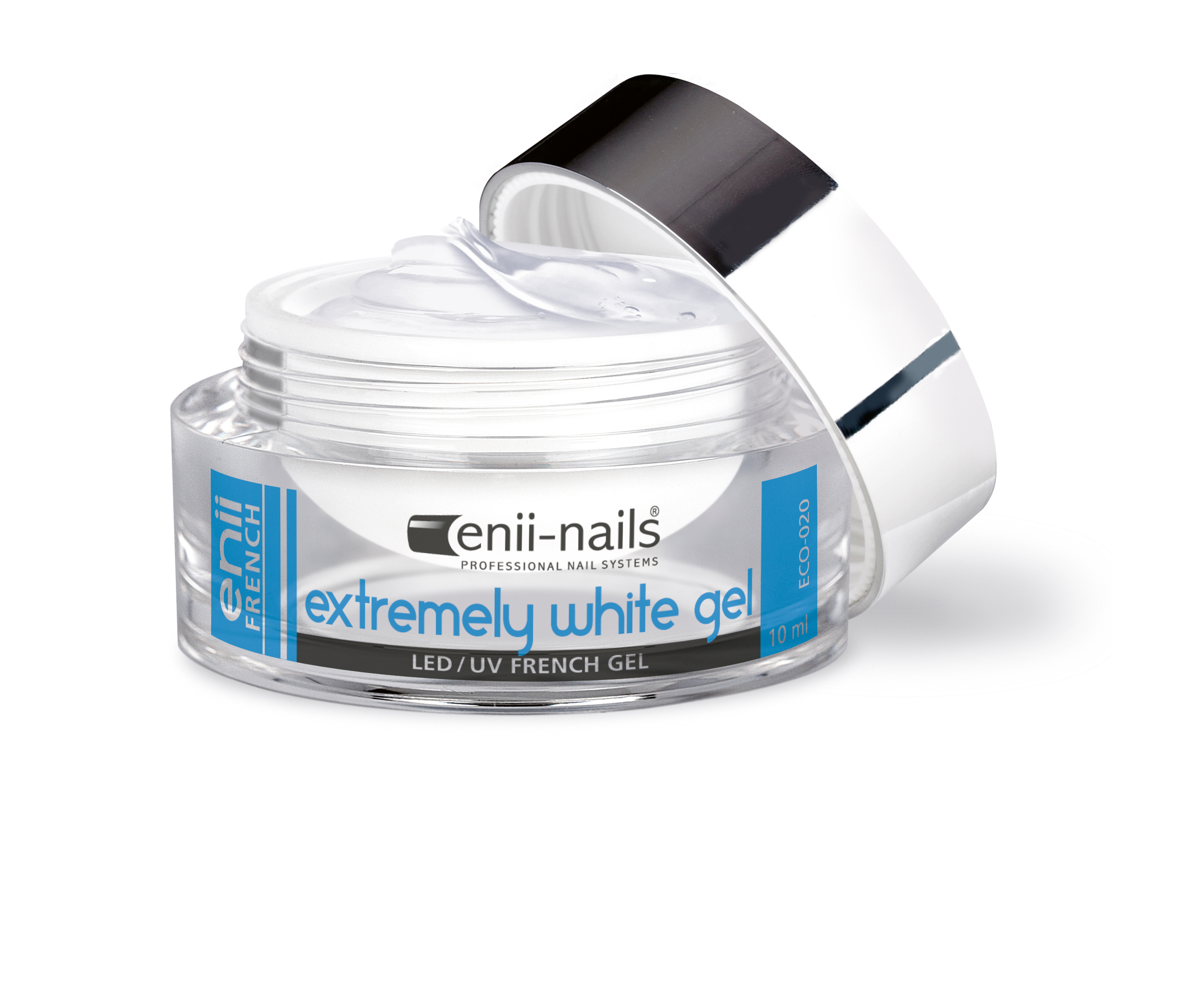 ENII-NAILS UV gel extrémně bílý 10 ml