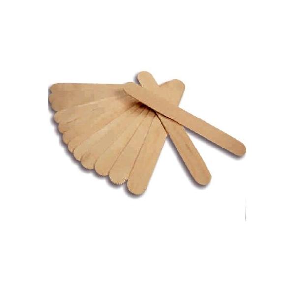 ENII-NAILS Špachtle dřevěná na vosk 100 ks