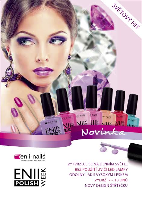ENII-NAILS Plakát ENII WEEK POLISH 2