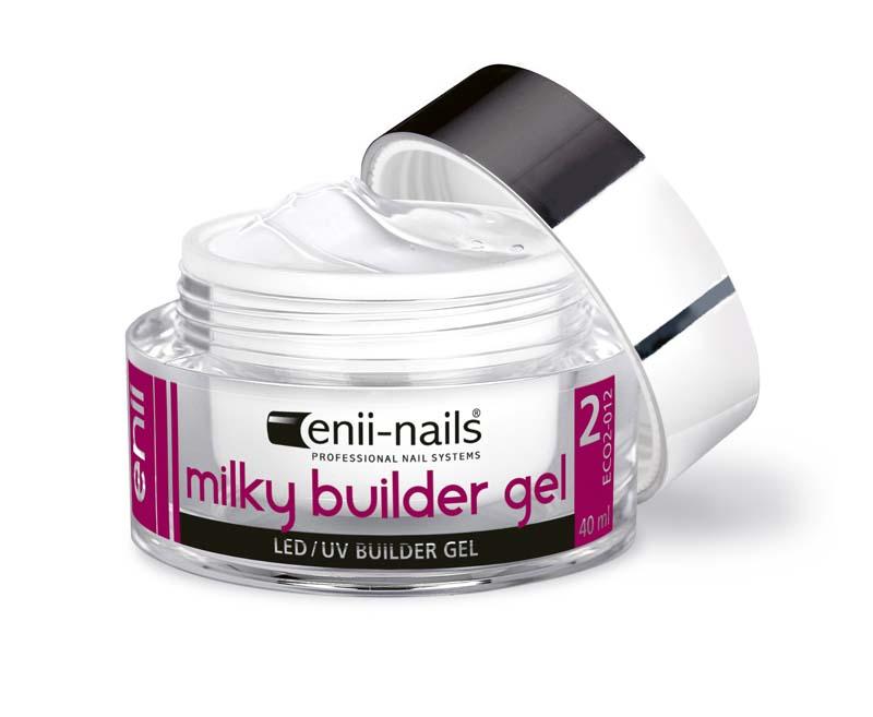 ENII-NAILS UV gel modelovací french mléčně bílý 10 ml