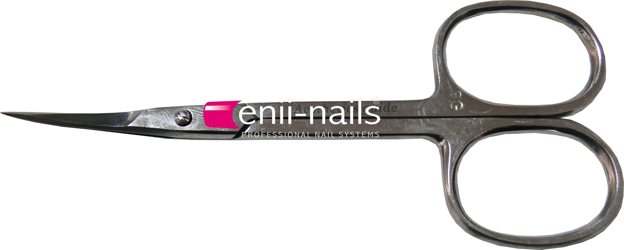 ENII-NAILS Nůžky na kůžičku 10 cm zahlé