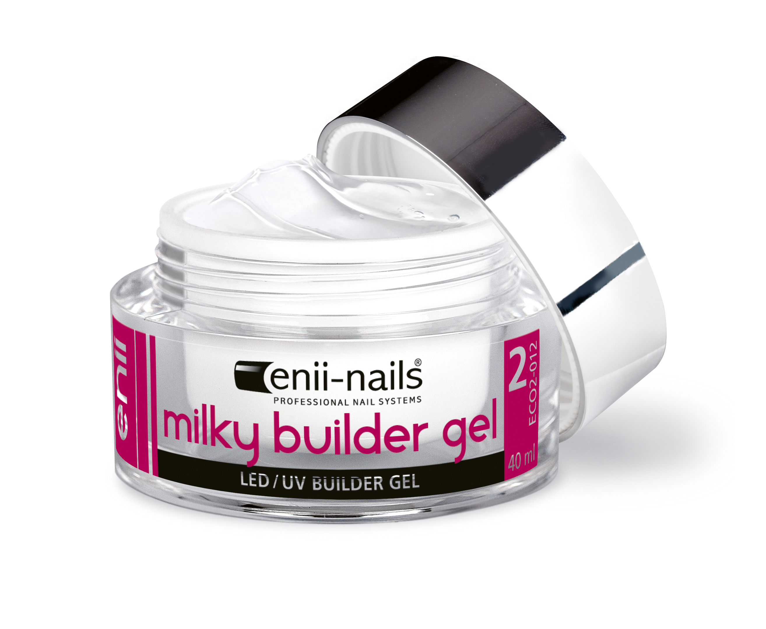 ENII-NAILS UV gel modelovací french mléčně bílý 40 ml