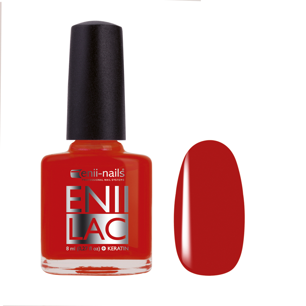 ENII-NAILS Eniilac 8 ml - Red Haute