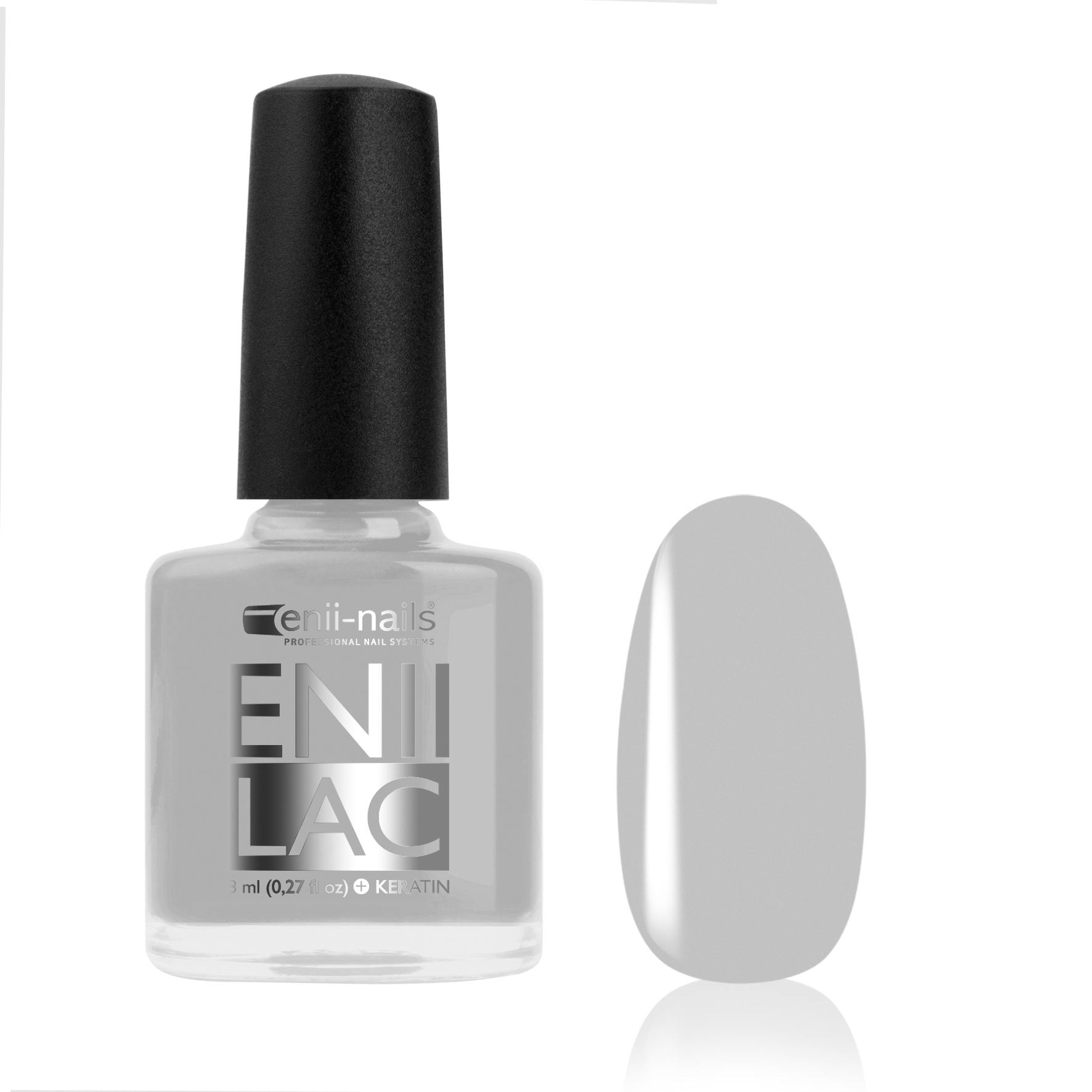 ENII-NAILS ENII LAC 8 ml - Silver Dust