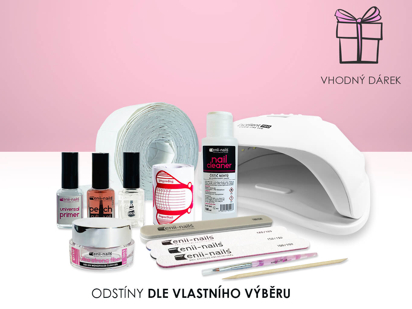 ENII-NAILS Sada LED/UV gel