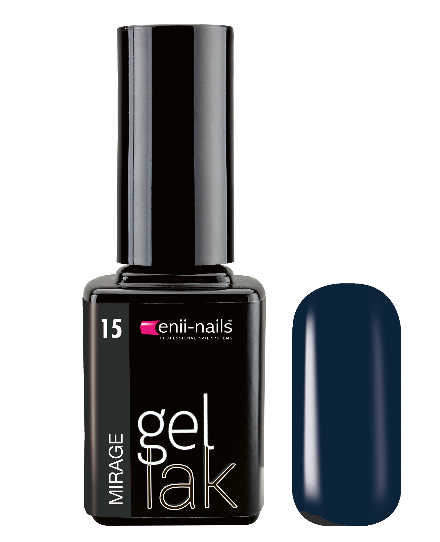 ENII-NAILS Gel lak 11 ml - mirage