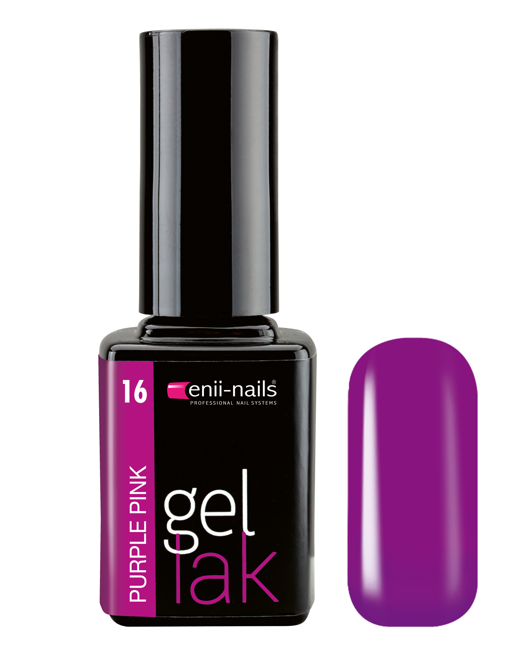 ENII-NAILS Gel lak 11 ml Purple Pink