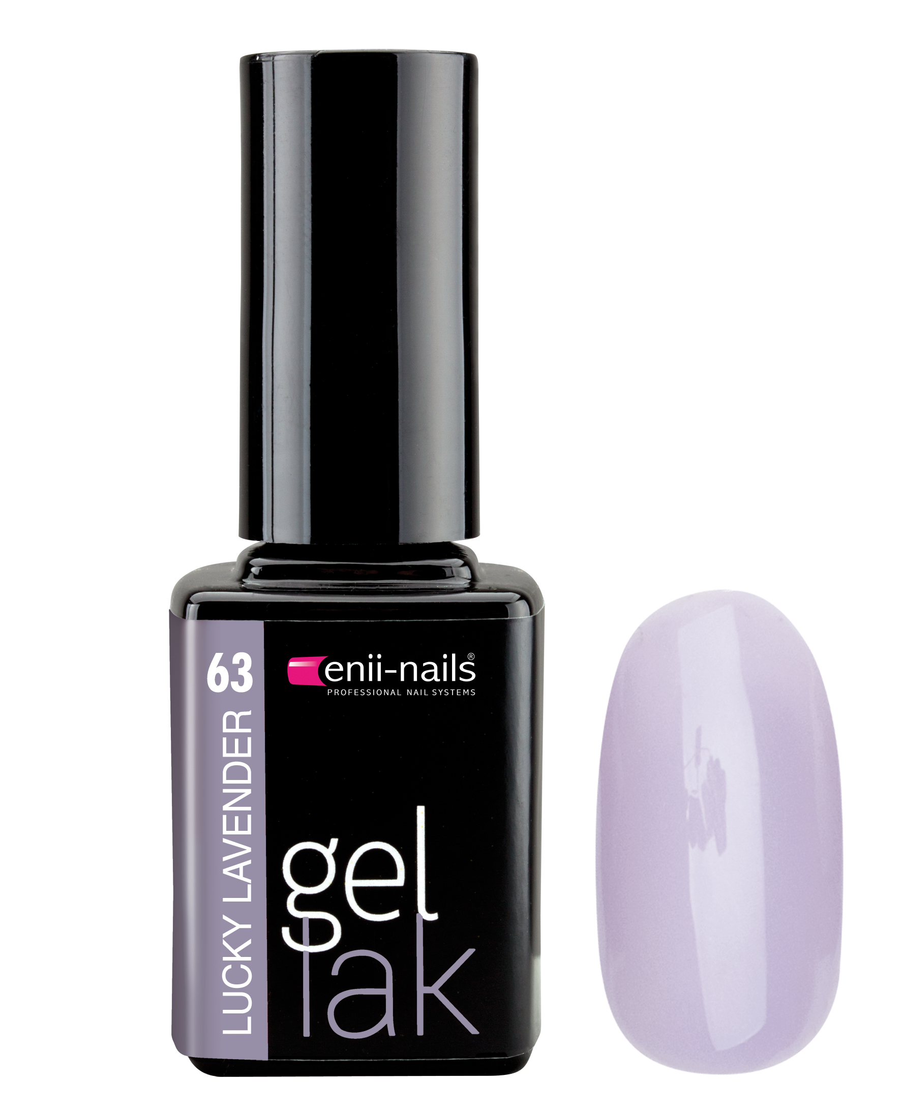 ENII-NAILS Gel lak 11 ml - Lucky lavender