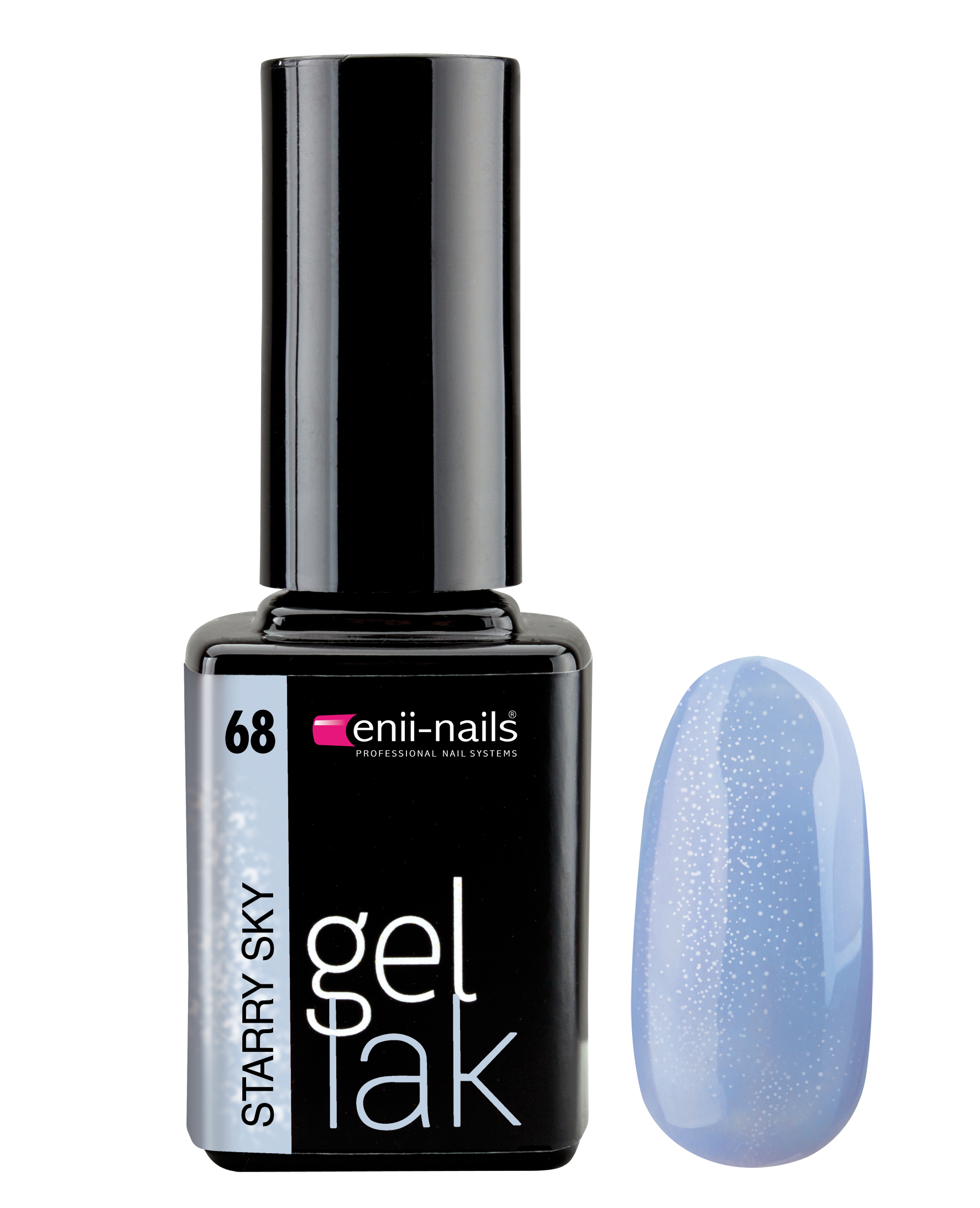 ENII-NAILS Gel lak 11 ml - Starry sky