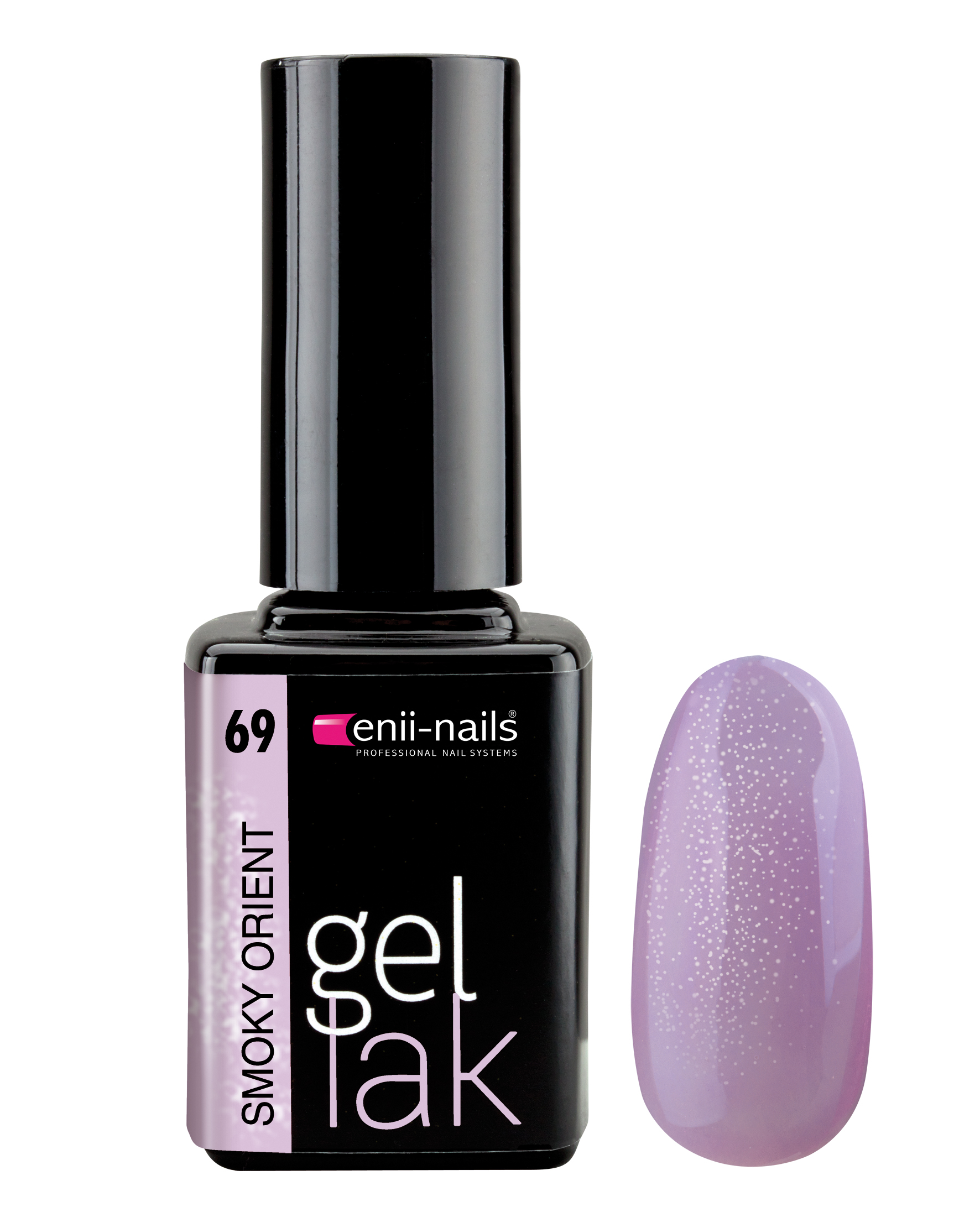 ENII-NAILS Gel lak 11 ml - Smoky orient