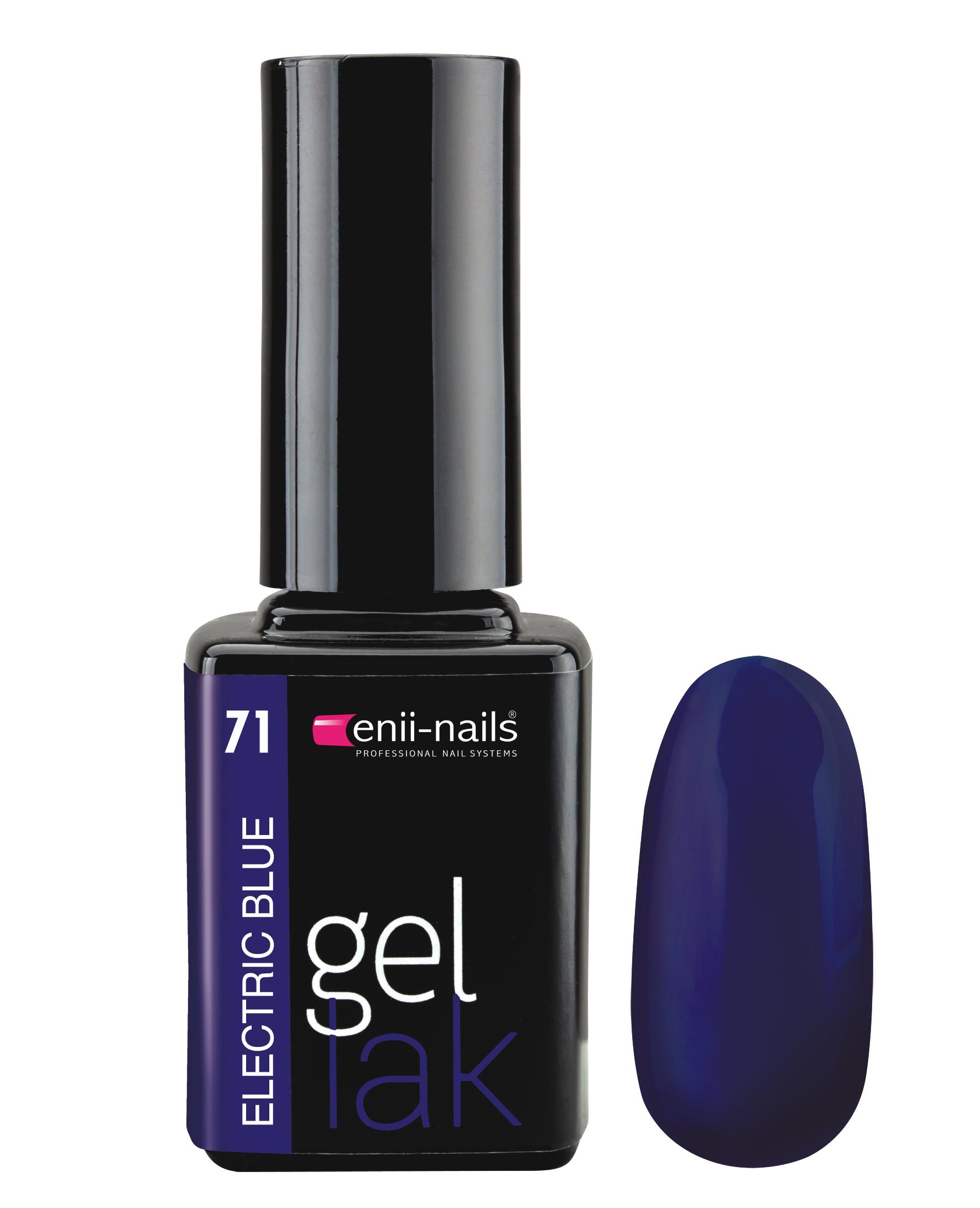 ENII-NAILS Gel lak 11 ml - Electric blue