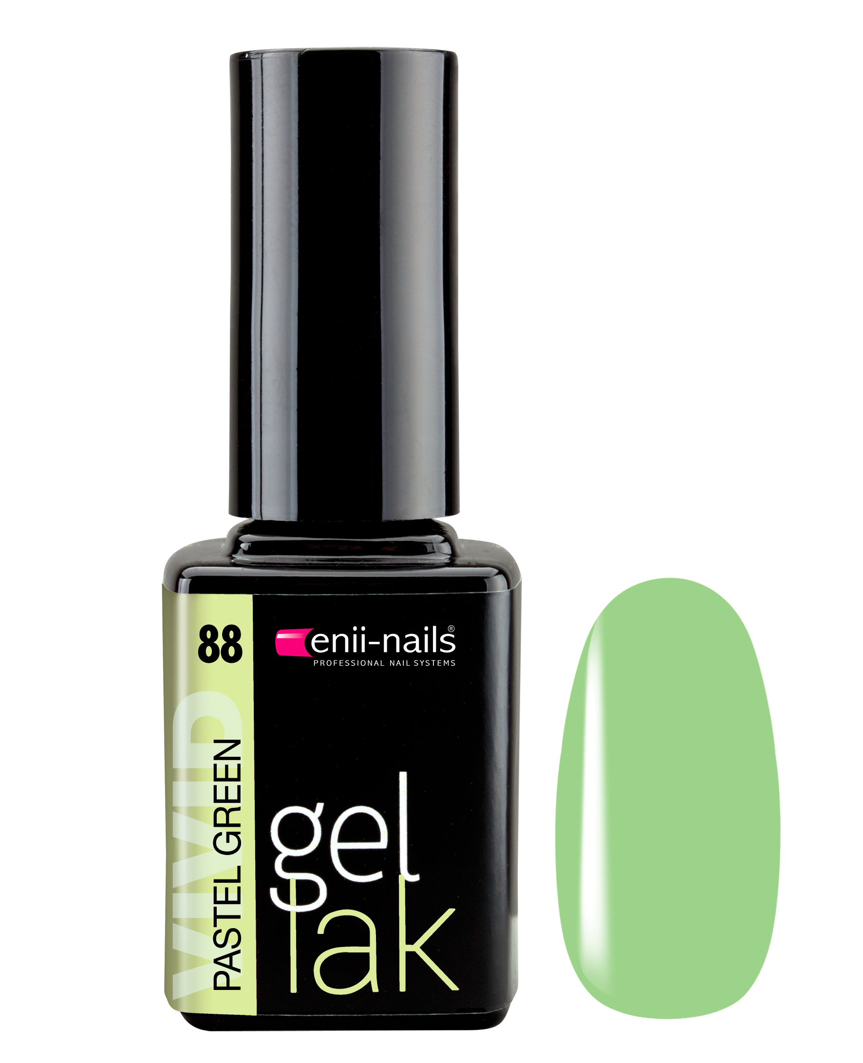 ENII-NAILS Gel lak Pastel Green 11 ml
