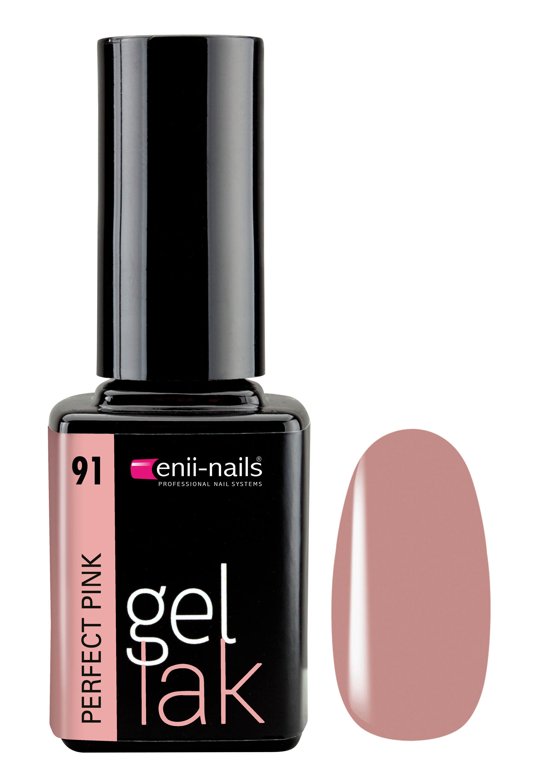 ENII-NAILS Gel lak 11 ml - Perfect Pink