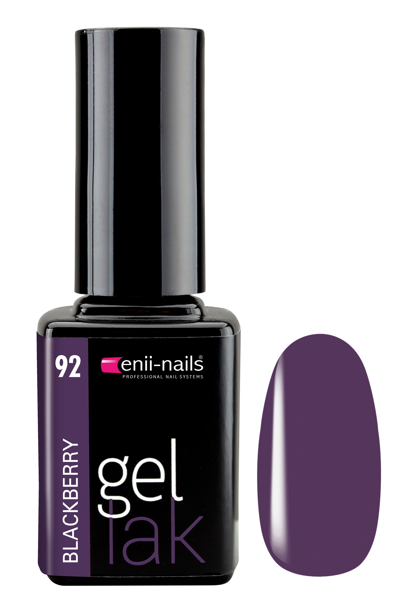 ENII-NAILS Gel lak 11 ml - Blackberry