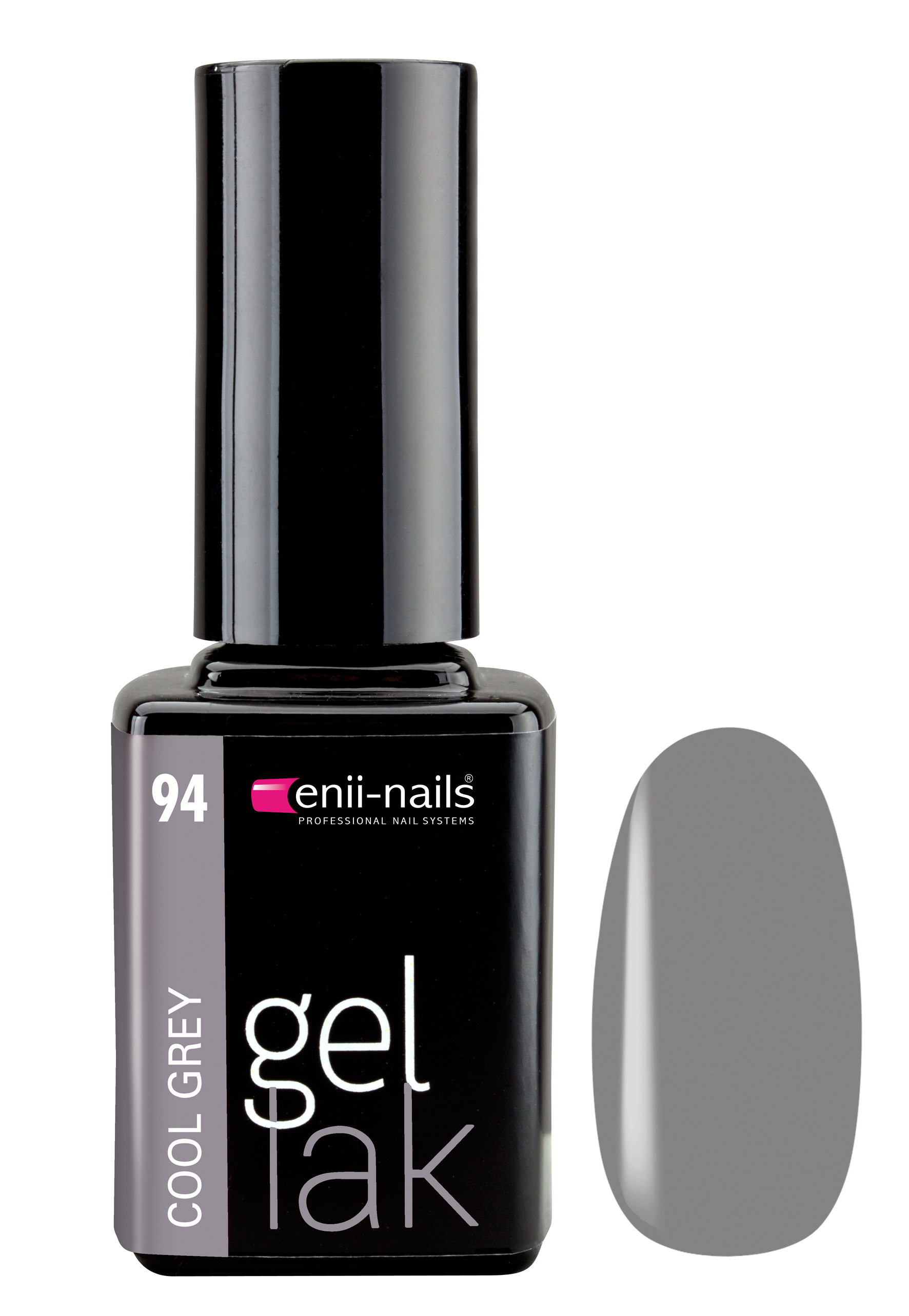 ENII-NAILS Gel lak 11 ml - Cool Grey