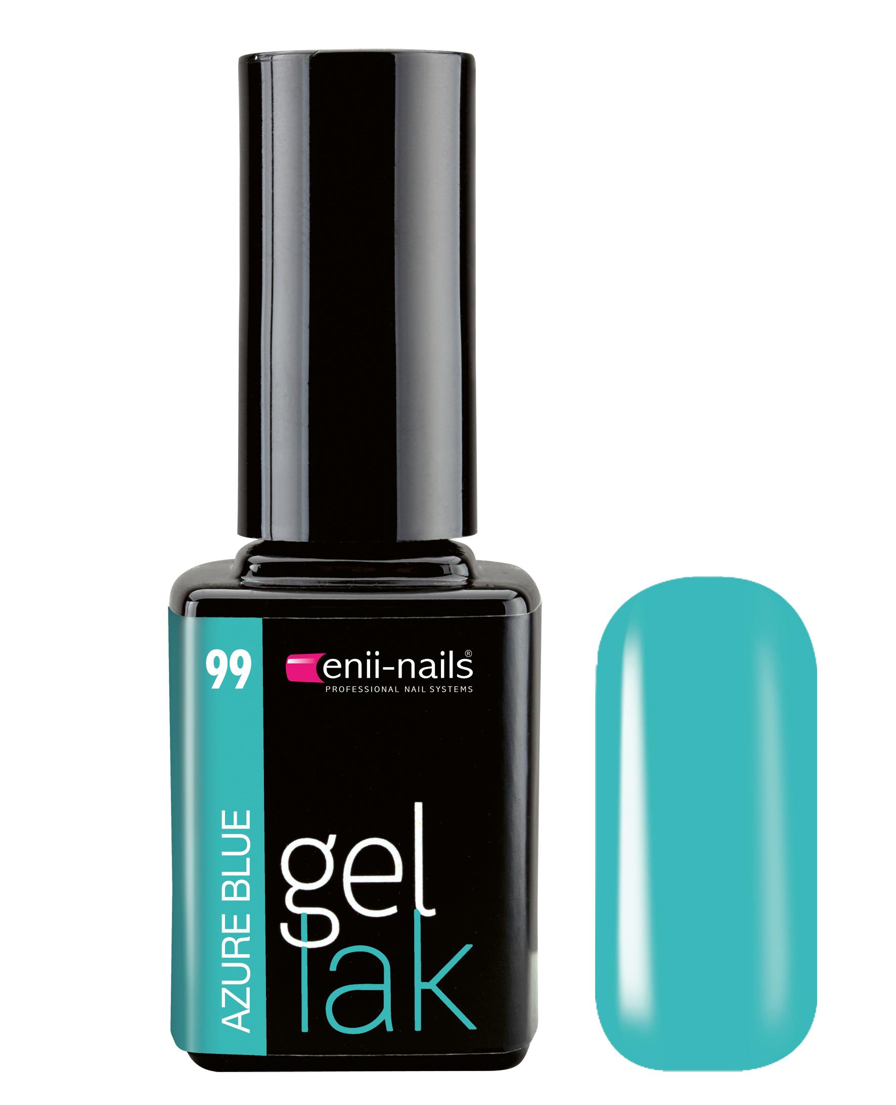 ENII-NAILS Gel lak 11 ml -  Azure Blue