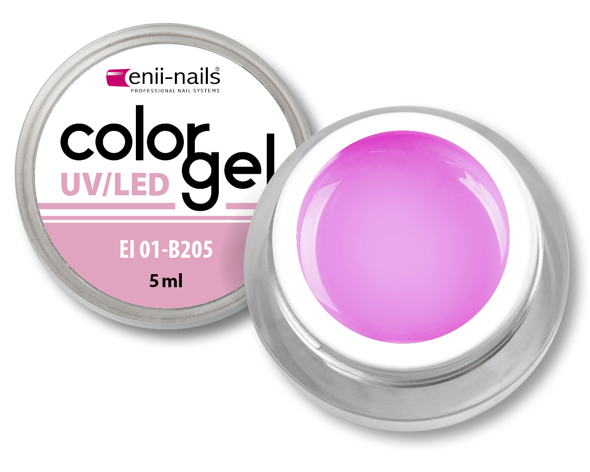 ENII-NAILS Barevný UV/LED gel 5 ml č.205